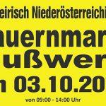 Termintipp: 29. Bauernmarkt in Gußwerk am 3. Okt. 2020