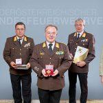 Hohe Auszeichnung für drei Mariazeller Feuerwehrmänner
