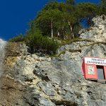 Bild der Woche: Kunstprojekt Cliffhanger in den Ötschergräben