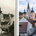 Einst und Jetzt | Alte Ansichtskartenmotive neu fotografiert