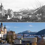 Serie: Einst & Jetzt | Ginner-Villa Blick zur Basilika