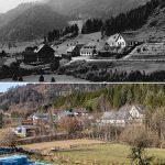 Serie: Einst & Jetzt | Halltal 1928 >> 2020
