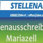 Stellenausschreibungen: Sekretär(in) & Installateur m/w – Stadtbetriebe Mariazell
