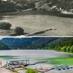Serie: Einst & Jetzt | Erlaufsee 1928 und 2018