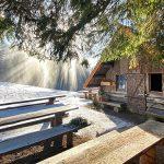 Bild der Woche: Holzknechthütte Lichtstimmung