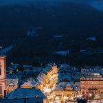 Dezemberschnee hüllt Mariazell in vorweihnachtliche Stimmung