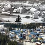Serie: Einst & Jetzt | Mitterbach 1925 und 2020