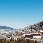 Mariazell im Morgenfrost am 20. Dezember 2020