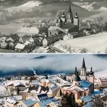 Serie: Einst & Jetzt | Wintersportplatz Mariazell 1939 und 2021