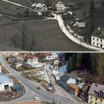 Serie: Einst & Jetzt | Rasing Blick Mariazell 1928 und 2021