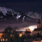 Bild der Woche: Mariazell bei Nacht
