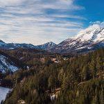 Bild der Woche: Erlaufstausee, Hagengut und Ötscher
