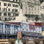 Serie: Einst & Jetzt | Mariazell Hauptplatz 1920 und 2021