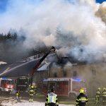 Haus brannte in Rasing/Mariazell