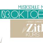 3. Zitherkurs in Mariazell | 1.- 3. Oktober 2021