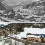Serie: Einst & Jetzt | Wegscheid 1906 und 2021