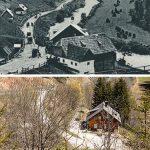 Serie: Einst & Jetzt | Blick ins Halltal 1905 und 2021