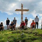 Das neue Wetterinkreuz gefertigt von den Schülern der PTS Mariazell