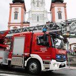 Neue Drehleiter für die Freiwillige Feuerwehr Mariazell