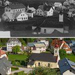Serie: Einst & Jetzt | Mitterbach 1906 und 2021