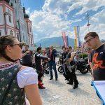 Motorradfahrer-Umfrage bezüglich Parkmöglichkeiten in Mariazell