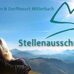 Stellenausschreibung | Mitarbeiter (w/m) für Tourismusinformation Mitterbach gesucht