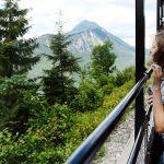 Bild der Woche: Erlebniszug Ötscherbär – Aussichtswagen und Sommerferienprogramm