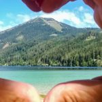 Bild der Woche: Herzliche Grüße vom Erlaufsee
