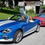 Internationales Fiat 124 Spider-Treffen machte Halt beim Franzbauer