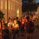 Lichterprozession Maria Himmelfahrt 2021 in Mariazell - Fotos