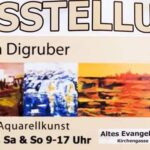 Termintipp: Ausstellung Johanna Digruber - Acryl & Aquarellkunst
