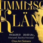 Himmlische Klänge mit Chor.Art Sistrans in der Basilika