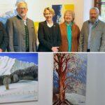 Ausstellung im Alten Evangelischen Schulhaus in Mitterbach