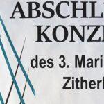 Termintipp: Abschlusskonzert des Zitherkurses